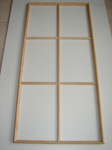 garant sprossenrahmen esche 6 felder 142 5 x 66 5cm holz stahlhandel h schenk gmbh. Black Bedroom Furniture Sets. Home Design Ideas
