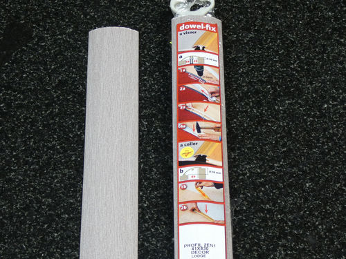 "Bodenprofilleiste ""dowel-fix"" 41x830 mm LODGE 3,55 €/m"