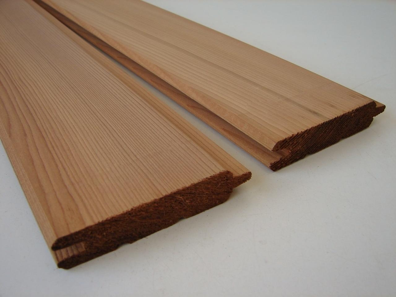 10 western red cedar abschnitte 600 x 18mm - holz-&stahlhandel h