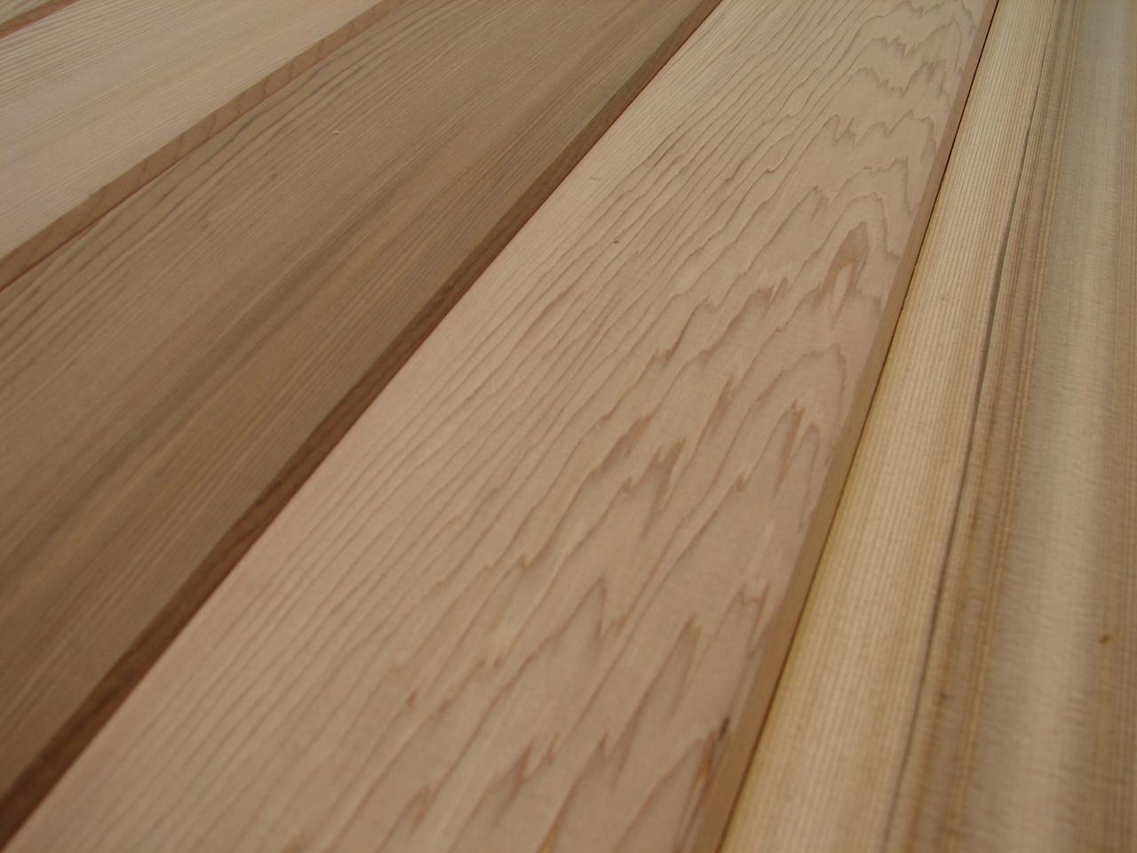 10x western red cedar profilbretter 580x84x18mm - holz-&stahlhandel