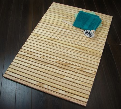 Wellnessmatte Southern Yellow Pine 80 x 120 cm